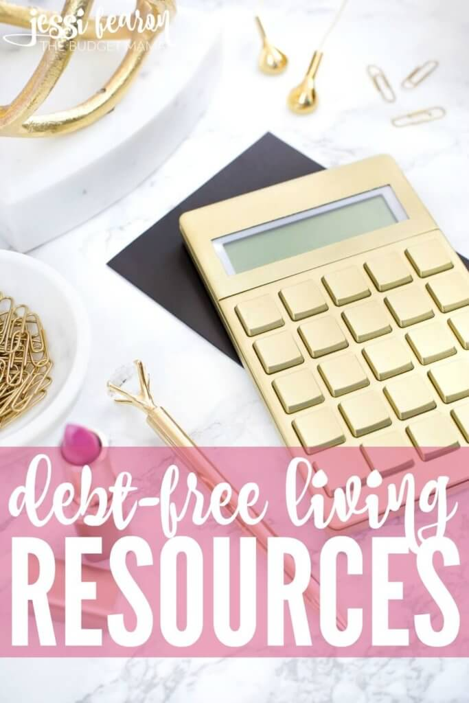 Debt-free living resources; Ways to make living a life free from debt a reality!