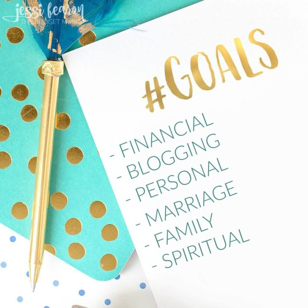 Goals Update - Where I share our financial goals, personal goals, blogging goals, and more!