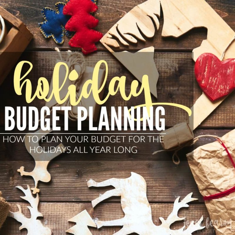Holiday Budget Planning