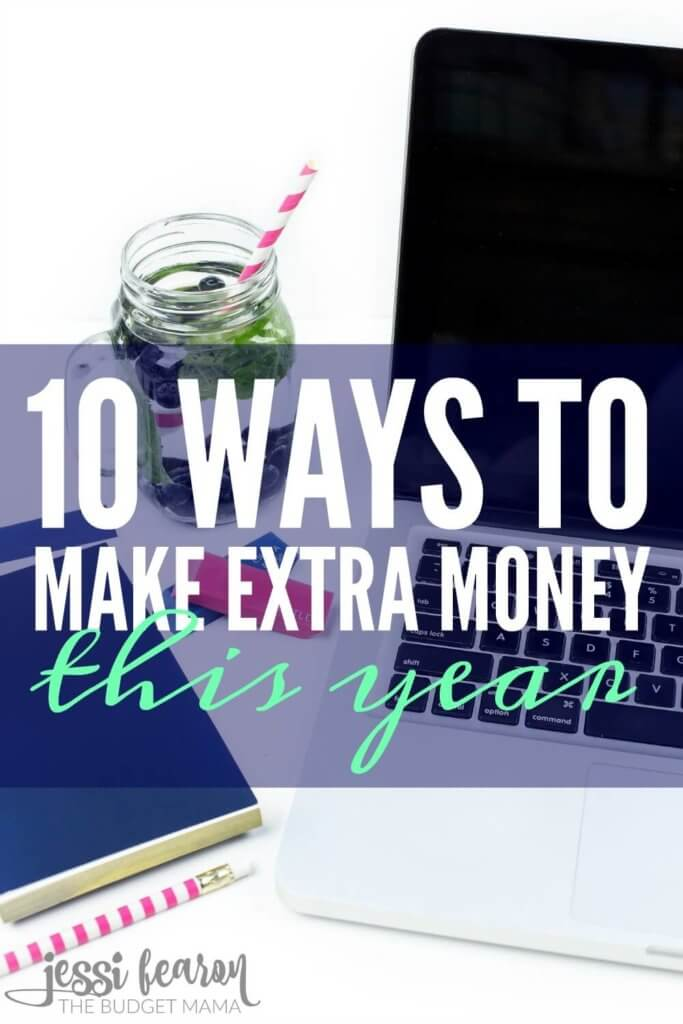10 Ways to Make Extra Money This Year; When it comes to balancing your budget you can either cut expenses or generate more income. If you're trying to find some ways to make extra money, these 10 ways will help you get started today!