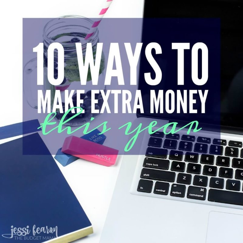 When it comes to balancing your budget you can either cut expenses or generate more income. If you're trying to find some ways to make extra money, these 10 ways will help you get started today!