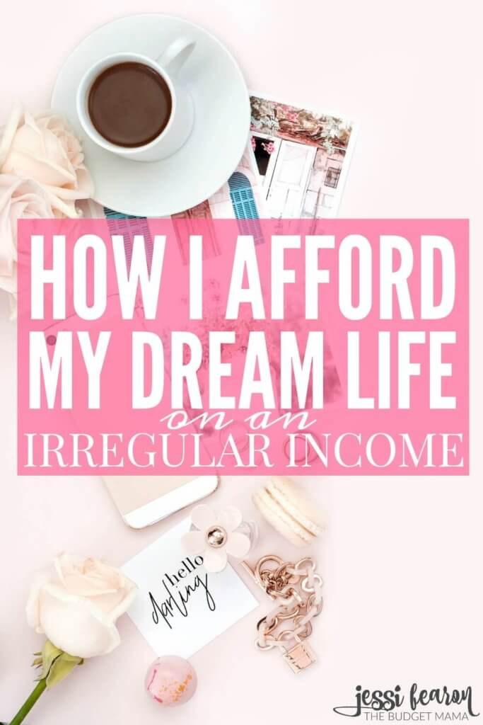 How I learned to afford my dream life on irregular income; Wondering how you can make your dreams a reality with irregular income? This is a great post on how one girl learned to do it all while living in NYC!