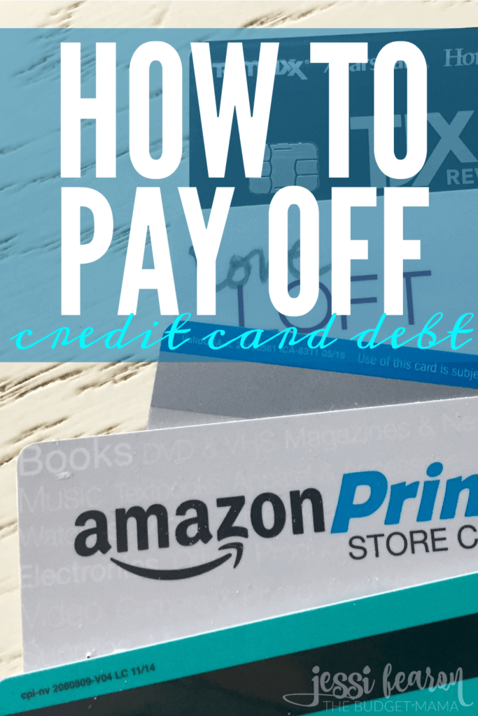 How to pay off credit card; If you're wanting to start on the debt-free journey, getting rid of your credit card is one of the best places to start.