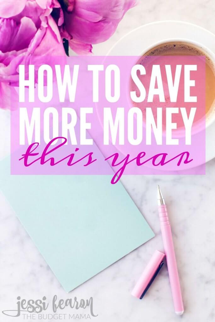 How to save money this year; Instead of just giving up the Starbucks habit this year, try this approach to saving more money this year!