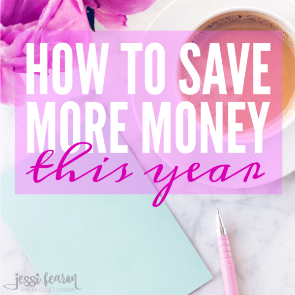 How to save money this New Year