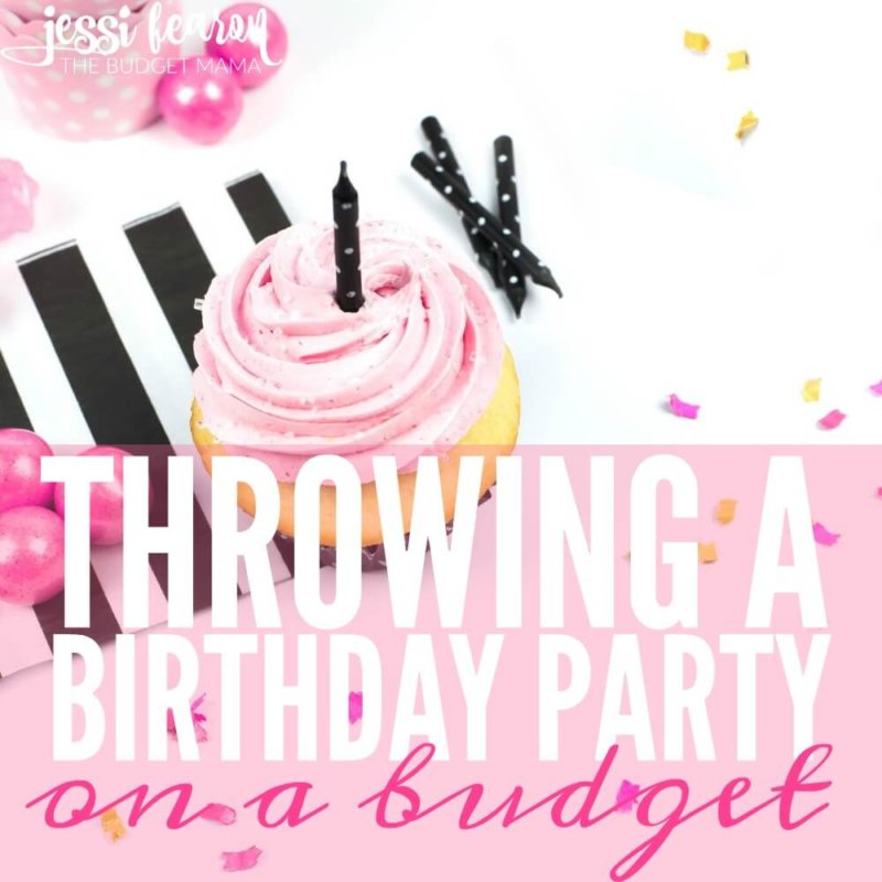 How we throw kid birthday parties on a budget