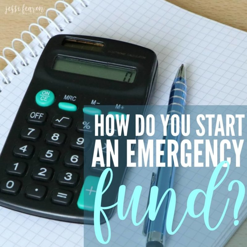 How do you start an emergency fund? How do you fund an emergency fund? These 4 steps will help you get your emergency fund started and funded!
