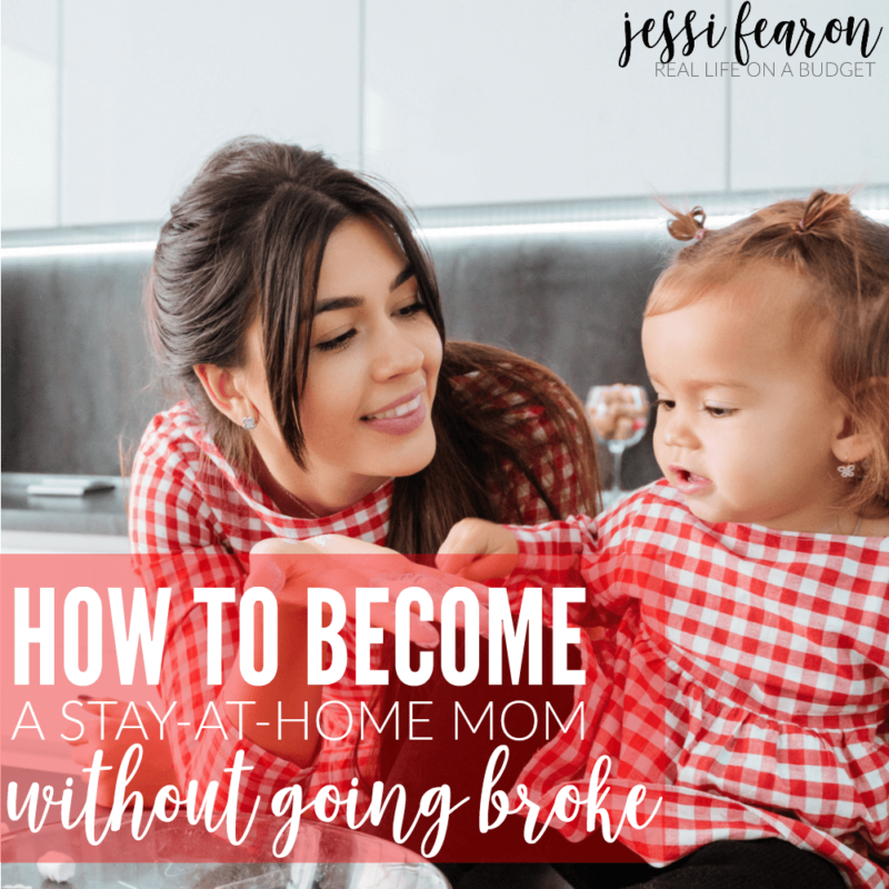 How to financially prepare to become a stay-at-home mom so you don't go broke.