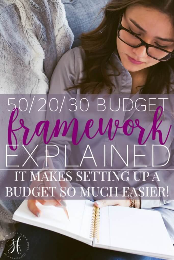 The 50/20/30 budget explained - it makes setting up a budget so much easier!