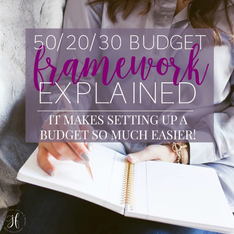 The 50/20/30 budget is a simple way to set up a budget. Even though it sounds a little intimating, it's really simple. Here's the 50/20/30 budget explained.
