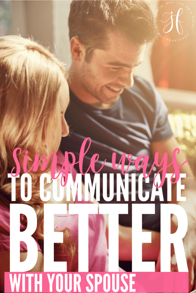 Simple ways to communicate with your spouse