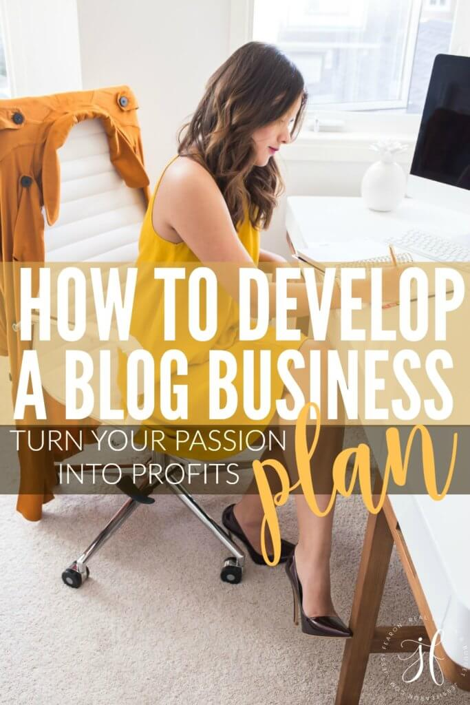 Wondering how to develop a blog business plan so you can start turning your blog from a hobby to a business? This resource has got you covered.