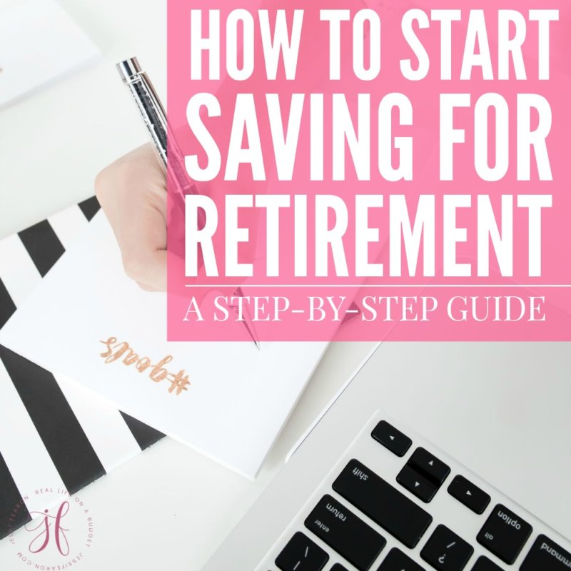 Natalie, a CFP shares her best tips for getting your financial life together with this step-by-step guide on how to start saving for retirement.