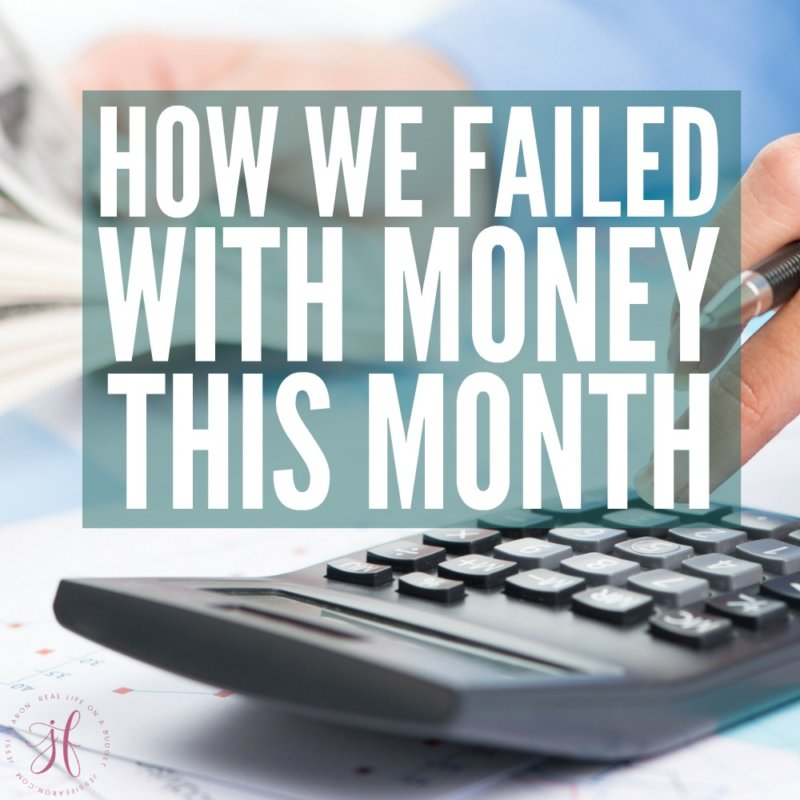 Our recent money fail…