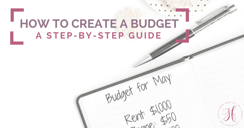 Wondering how to create a budget that will actually work for your family? This step-by-step guide and accompanying free printables will help you do just that!