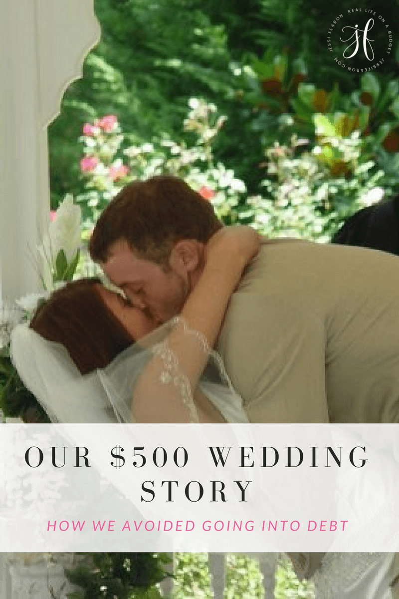 My $500 Wedding - Jessi Fearon
