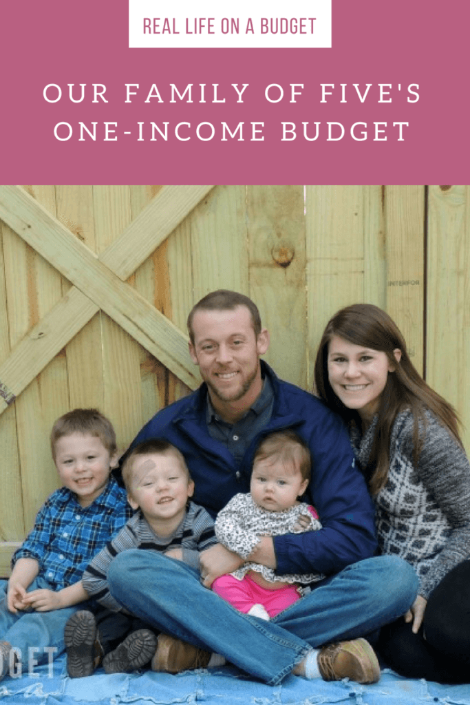 Every year I update this post to include the changes with our family. This is our 2016 one-income budget for our now family of five. Our budget isn't perfect, but this is our real life on a budget.