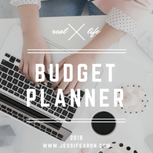 This printable budget planner will help you get your finances organized for 2018! Everything is included - from a 2018 Monthly Calendar to budget worksheets to goals worksheets!