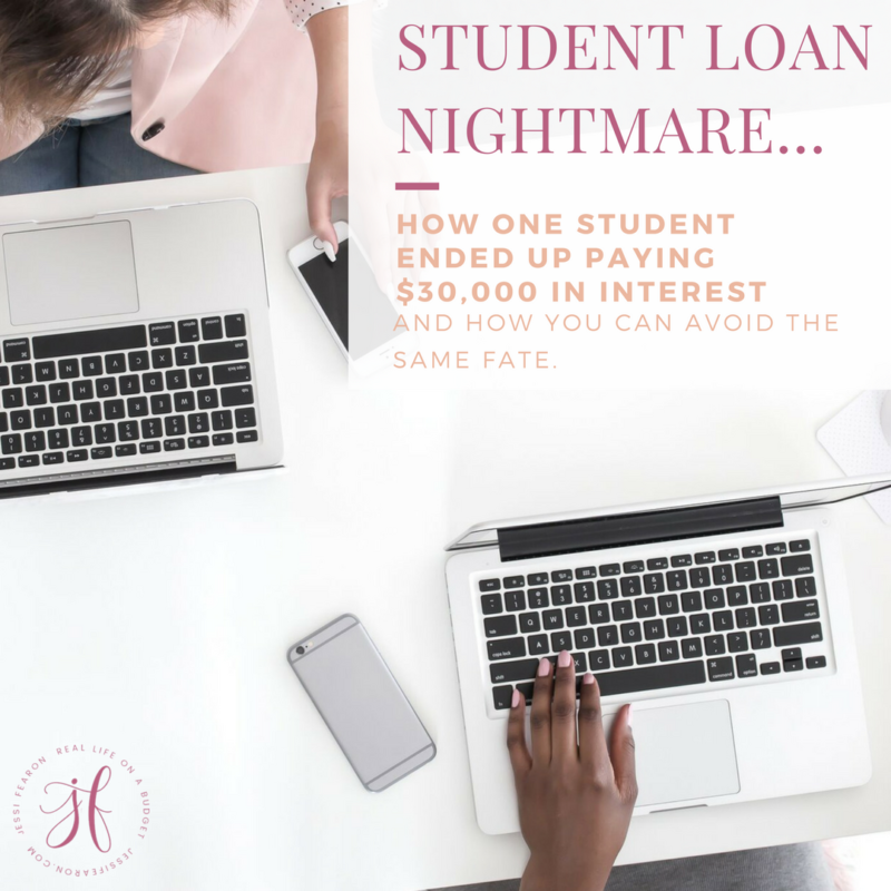 Student Loan Nightmare: How one student ended up paying over $30,000 in interest