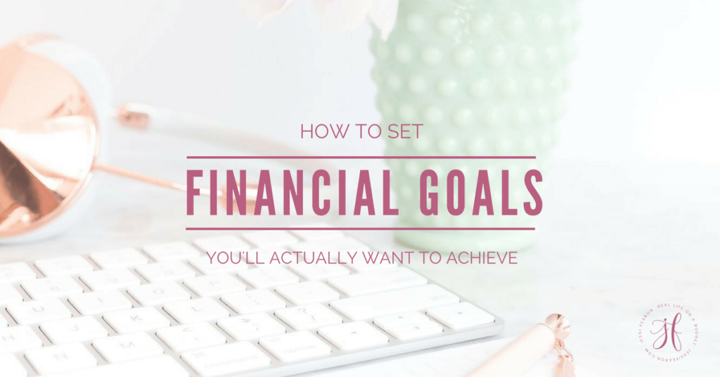 This is the exercise to do if you want to achieve financial freedom! Set your financial goals and get your life going in the right direction!