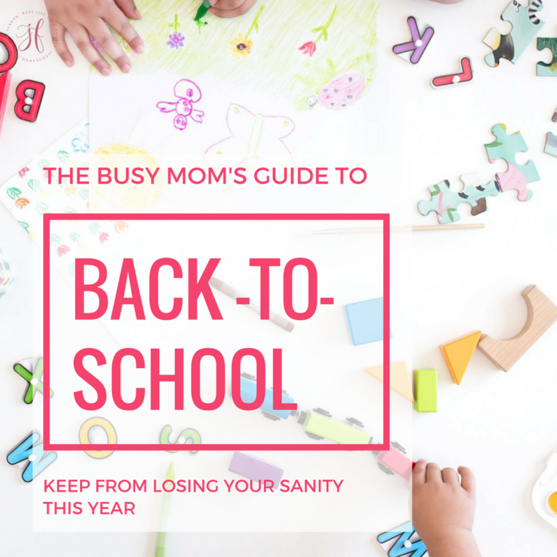 BACK TO SCHOOL TIME??!! If you're a mom with young kids, this is a MUST read!! Simple and to the point with great advice and resources to help the overwhelmed mom for getting ready for back to school season!