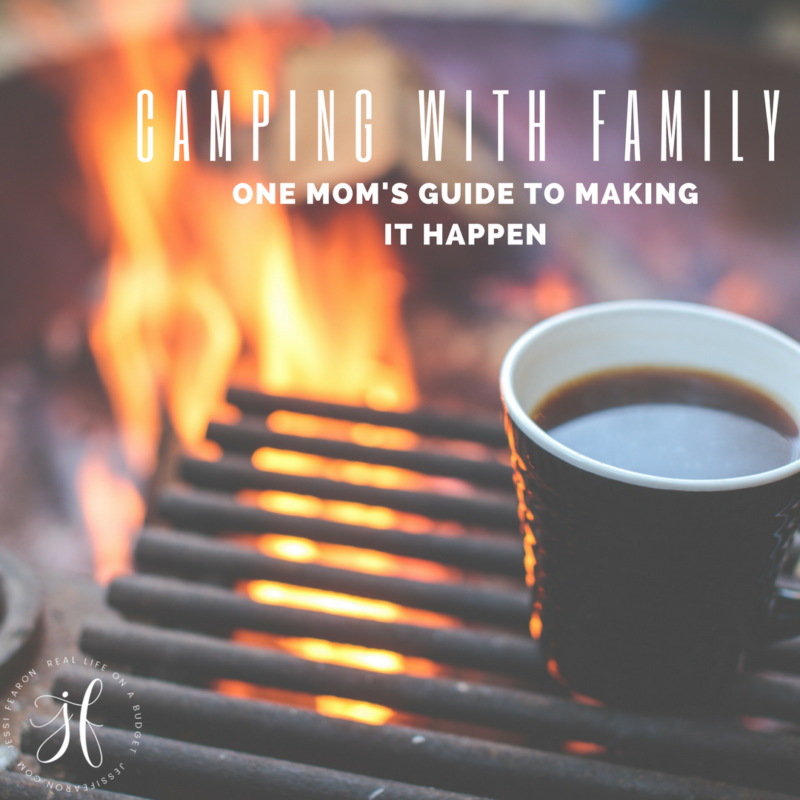 How to go camping with your family