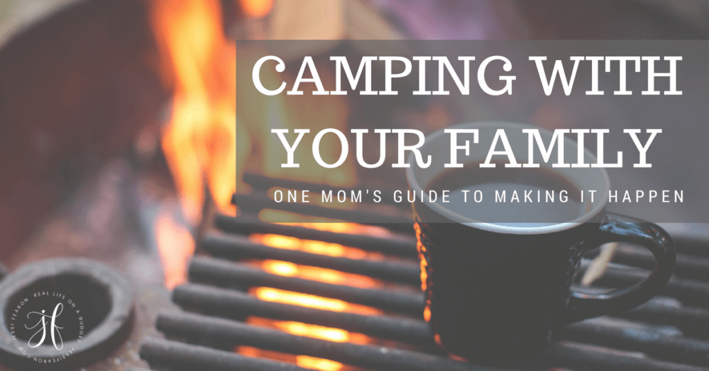 As a mom of three littles, I know how hard it came appear to make this happen but it can happen! How to go camping with your family and not lose your sanity