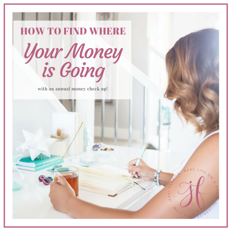 How to find where your money is going with an annual money check up!