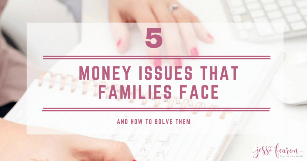 These are 5 of the money issues Americans face and solutions that can help your family to win with money.