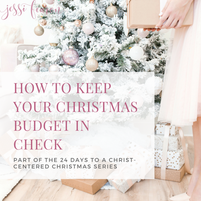 Taking back Christmas & keeping your Christmas budget