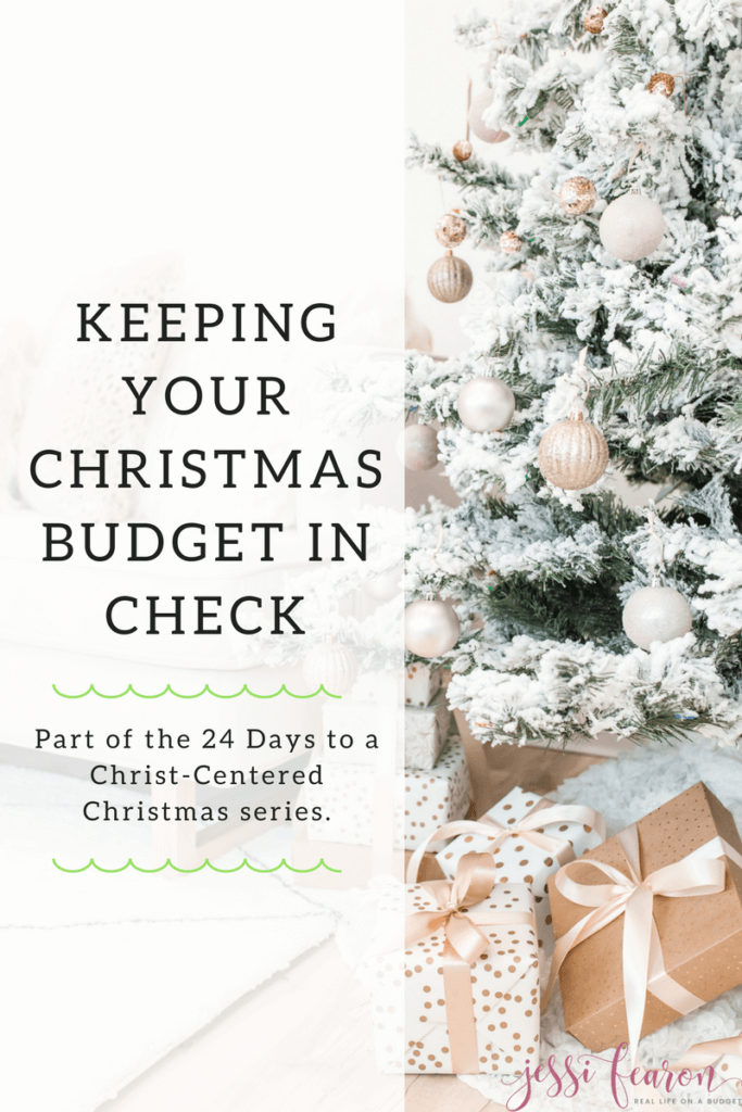 What do you really want for Christmas? Do you want more financial stress or would you rather live out the true meaning of the season & stick to your Christmas Budget?