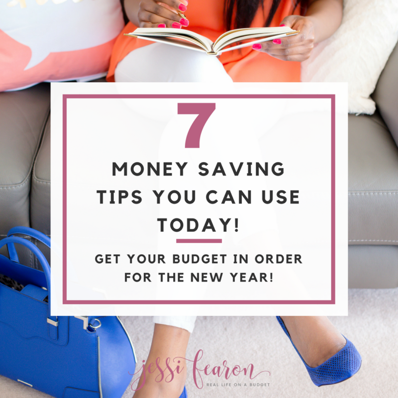 Need quick and easy to implement methods for saving money? These are seven ways that make saving money easier and save your budget.