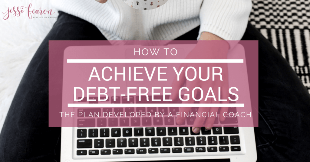 Ready to be debt-free? Want to make this the year you pay off all that debt? The key to achieving a debt-free goal is to plan and execute that plan. Don't be overwhelmed! This post has you covered with a detailed plan developed by a financial coach!