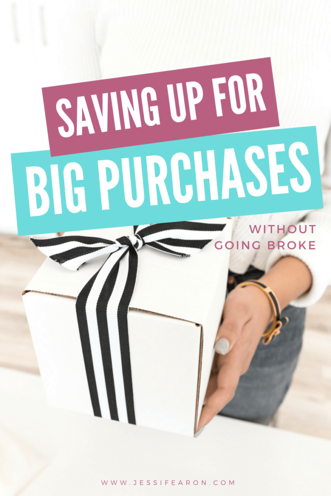 Saving for a big purchase doesn't mean that you have to go broke in the process. Here's how you can save for a big purchase without going broke.