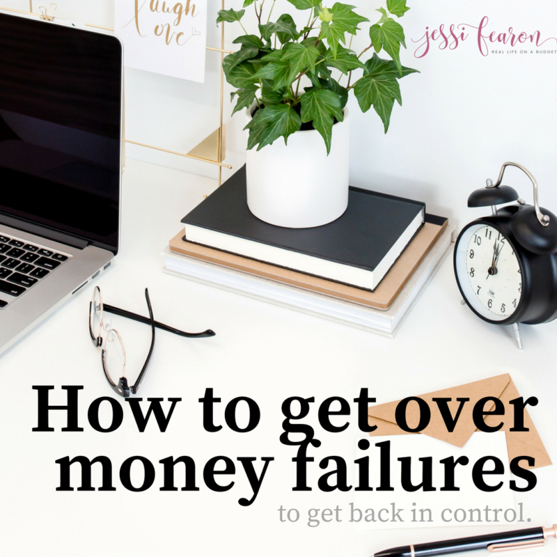 How to get over money failure