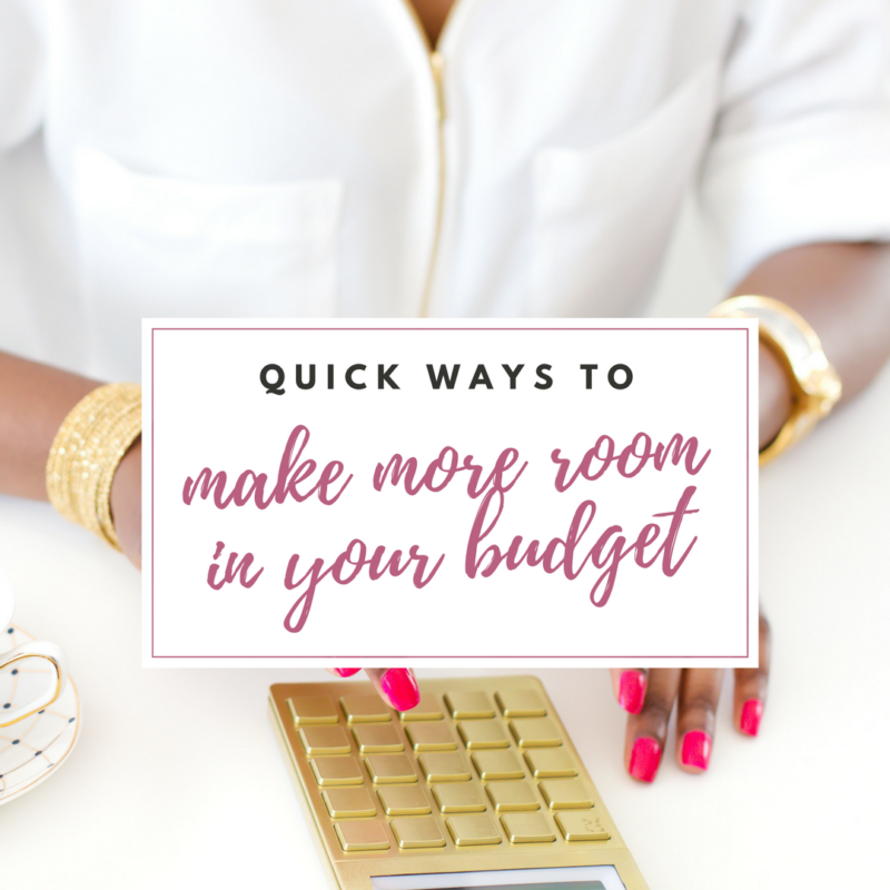 Quick ways to make extra room in your budget to pay off debt fast