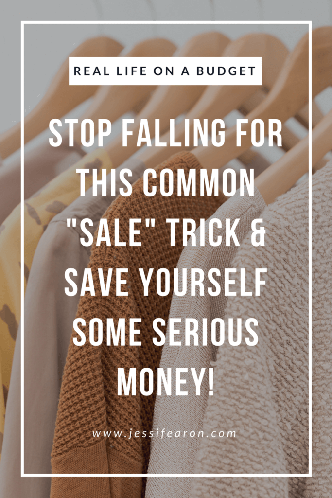 Stop spending money on this common marketing trick and start saving yourself some serious money! Once you start doing this you'll be able to better control your spending!