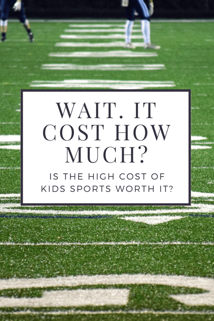 Did you know that kids sports cost so much? I certainly didn't. But should we enroll our kids anyways in sports even with the high cost? Is it worth it?