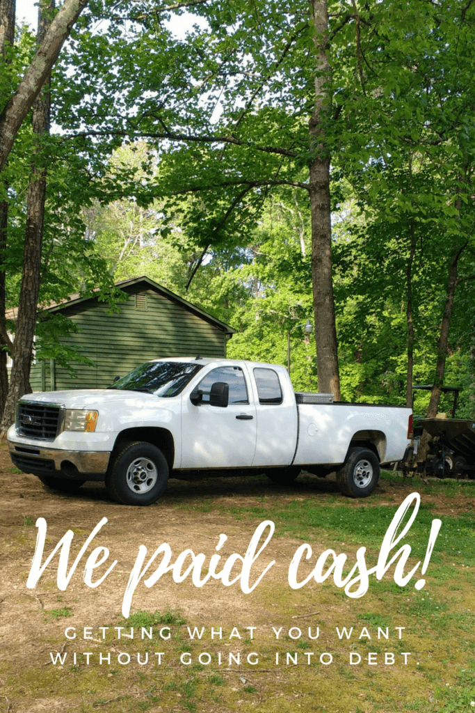 Want to avoid debt, but you know you'll eventually need a new car or truck? We've paid cash for both of our cars and it's been worth it every time. Here's how to pay cash for a car and avoid going into debt!