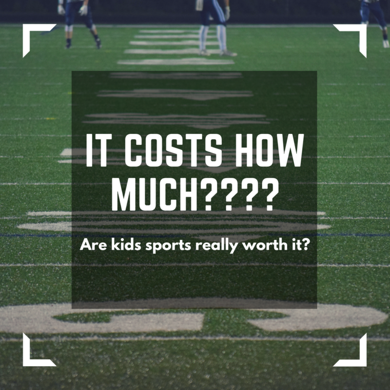 Kids sports cost how much????