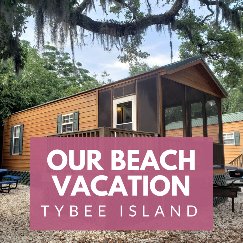 Our Family Beach Vacation on Tybee Island