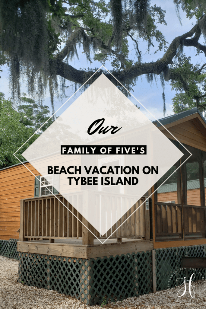 Every year our we have our family beach vacation on Tybee Island, and it's incredible! It's not a free vacation, but it's still super affordable.