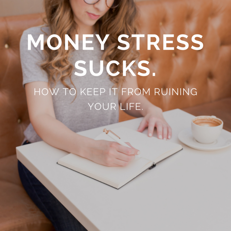 Money Stress Sucks. Here's what to do about it.