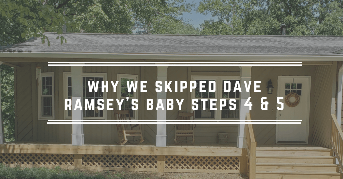Why We Skipped Dave Ramsey S Baby Steps Jessi Fearon