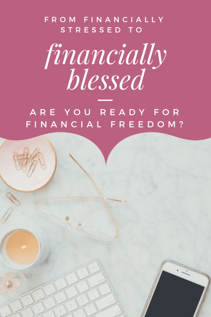 From financially stressed to financially free.