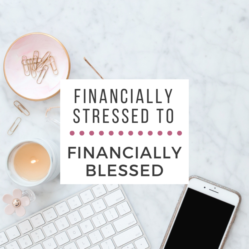I used to live with financial stress every single day. It was so hard to make the changes we needed in order to fix our mess, but it was so worth it!