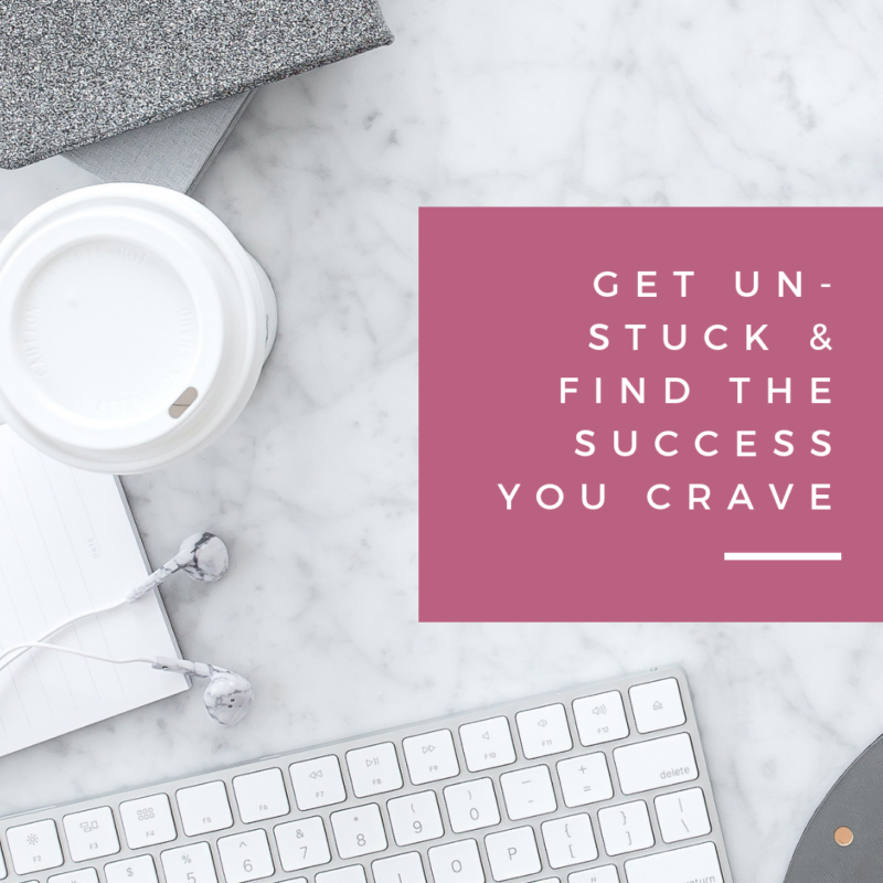 Want to find success but feel stuck? Feel like you can't get ahead no matter how hard you try. Whatever you do, don't fall into this trap that I did. Instead use these 5 things to get unstuck and find the success you crave.