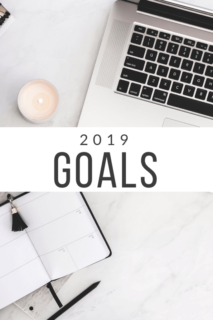 Need to set your 2019 goals but aren't sure where to start? These are my crazy goals for 2019 plus how you can get your goals set for the New Year! #goals #newyear #howto #goalsetting #business #wahm