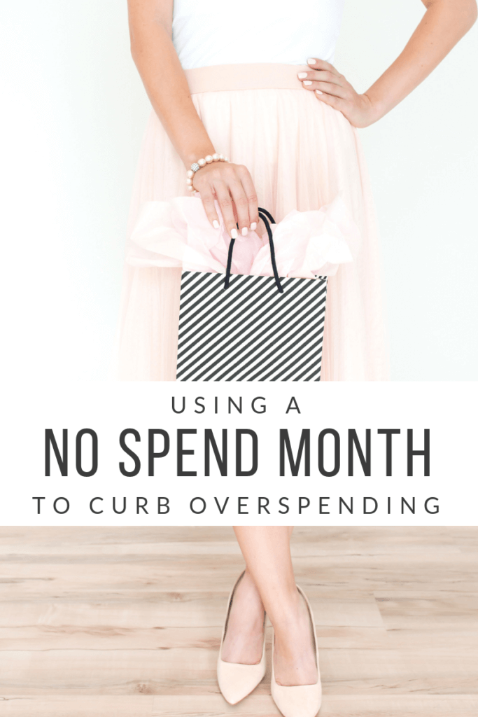 Is overspending a problem? If so, try the No Spend Month! Seriously, it works wonders in getting your spending habits back under control! #nospendmonth #money #budgeting #debtfree #spendingmoney