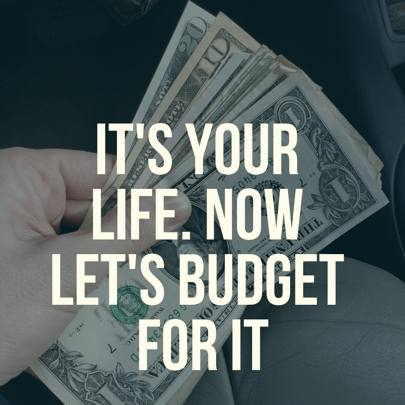 What's the point of budgeting if it doesn't fit your real life? This is how to budget for your actual life to make sure you stop spinning your wheels.